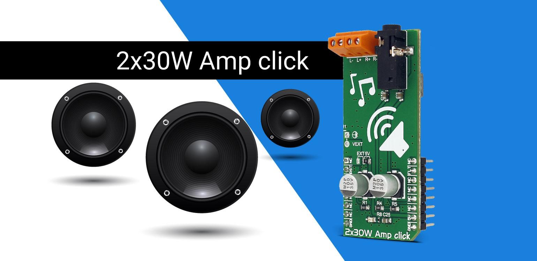Click Boards 17 Mikroelektronika Solutions Single Supply Shock Vibration Sensor Amplifier