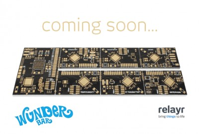 WunderBar IoT starter kit will be manufactured on our new machines