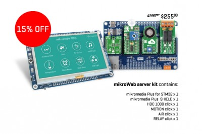 Special offer: Stay in touch with your mikromedia+ with the mikroWeb server