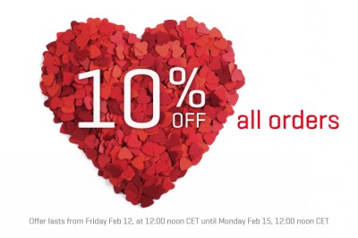 Our Valentine's Day Offer starts today