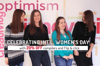 Celebrating International Women's Day with optimism