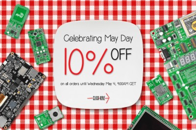 Special offer for May Day: 10% OFF everything in our store