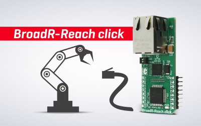 BroadR-Reach click – robust networking solution