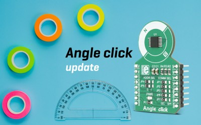 Angle click - precise Hall-effect angle sensing device