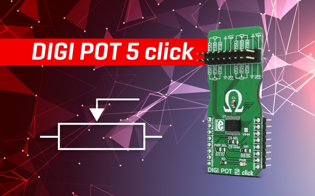 DIGI POT 5 click - digitally controlled quad potentiometer