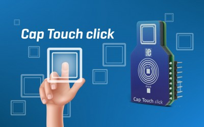 Cap Touch click - control everything with one touch