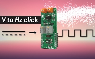 V to Hz click - turn analog voltage into frequency