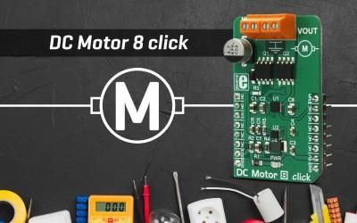 DC Motor 8 click - an efficient DC motor driver