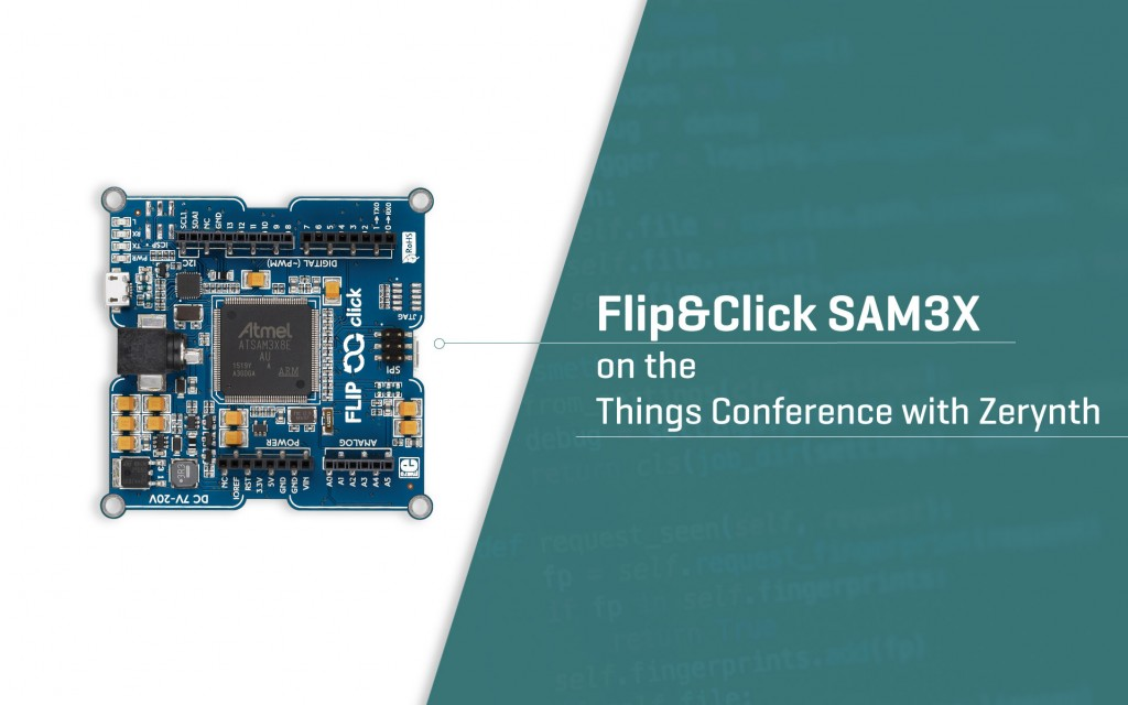 Flip&Click joins the Things Conference with Zerynth