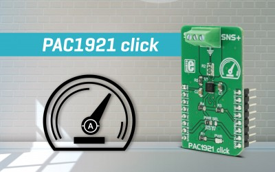 PAC1921 click - measuring voltage, power, and current