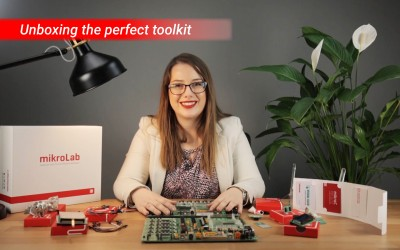Unboxing the perfect toolkit - mikroLAB for PIC XL