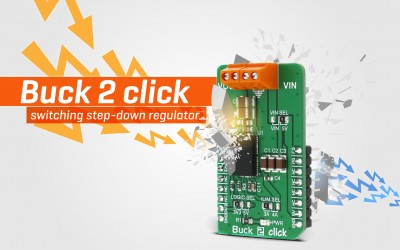 Buck 2 click - switching step-down regulator