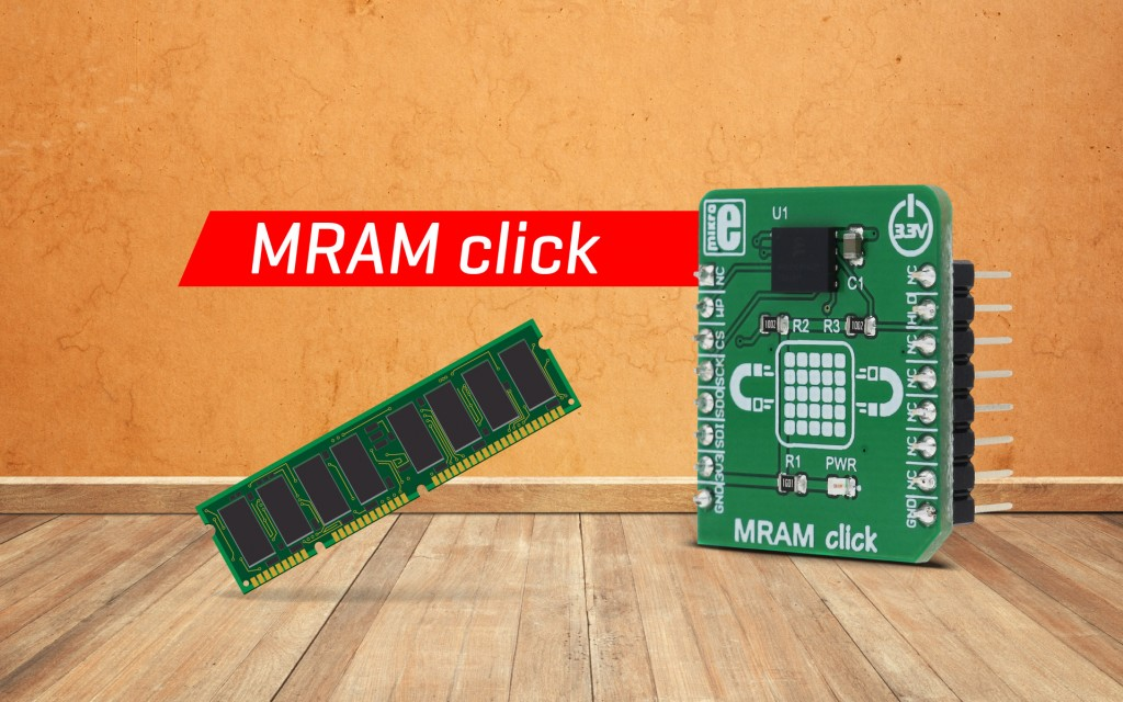 MRAM click - fast, high-density and non-volatile memory