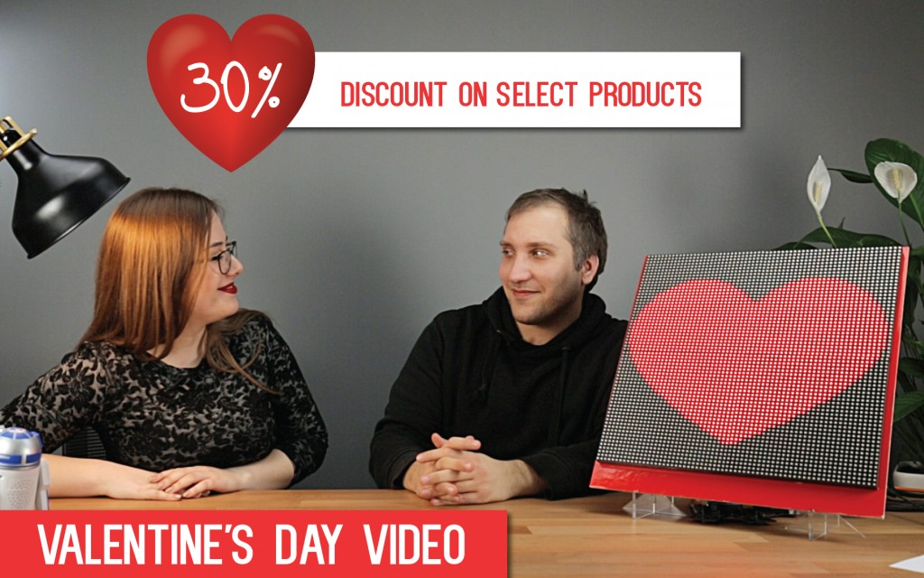 Valentine's Day  - 30% discount on select products