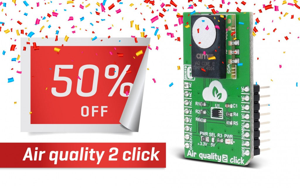 Saturday Steal - Air quality 2 click is 50% OFF