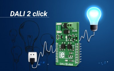 DALI 2 click - for digital lighting control