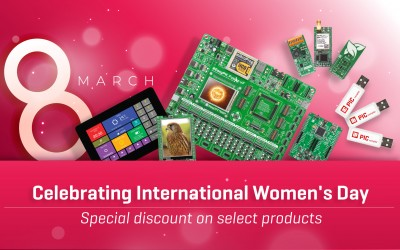 International Women's Day - special discount on select products