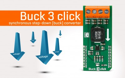 Buck 3 click - synchronous step-down (buck) converter