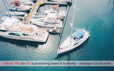 How mikroC for PIC is protecting boats in Australia - Developer's Crush series