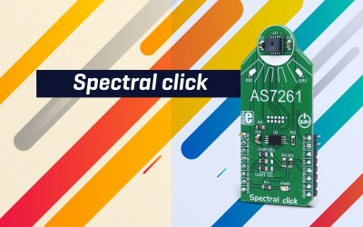 Spectral click - multispectral light sensing device
