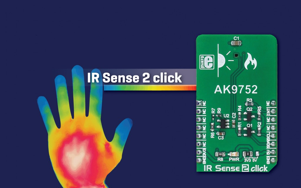 IR Sense 2 click - short range infrared sensing, with low power consumption