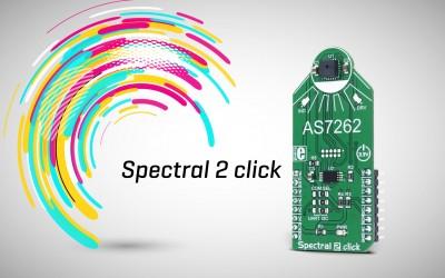 Spectral 2 click - multispectral color sensor