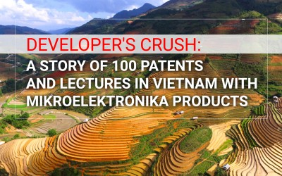 Developer's Crush: a story of 100 patents, and lectures in Vietnam