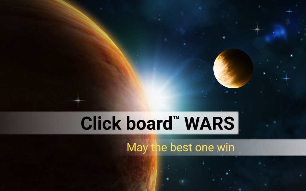 May The Fourth Be With You - Click board wars