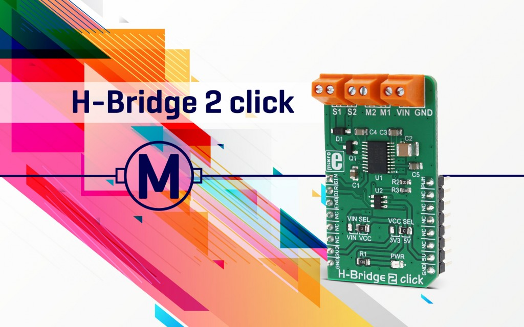 H-Bridge 2 click - driving motors with precision
