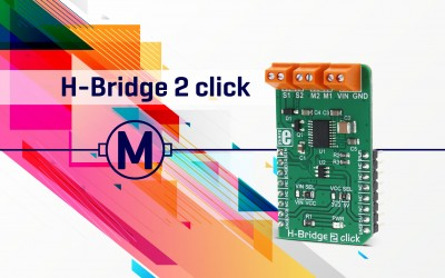 H-Bridge 2 click - driving motors with precision