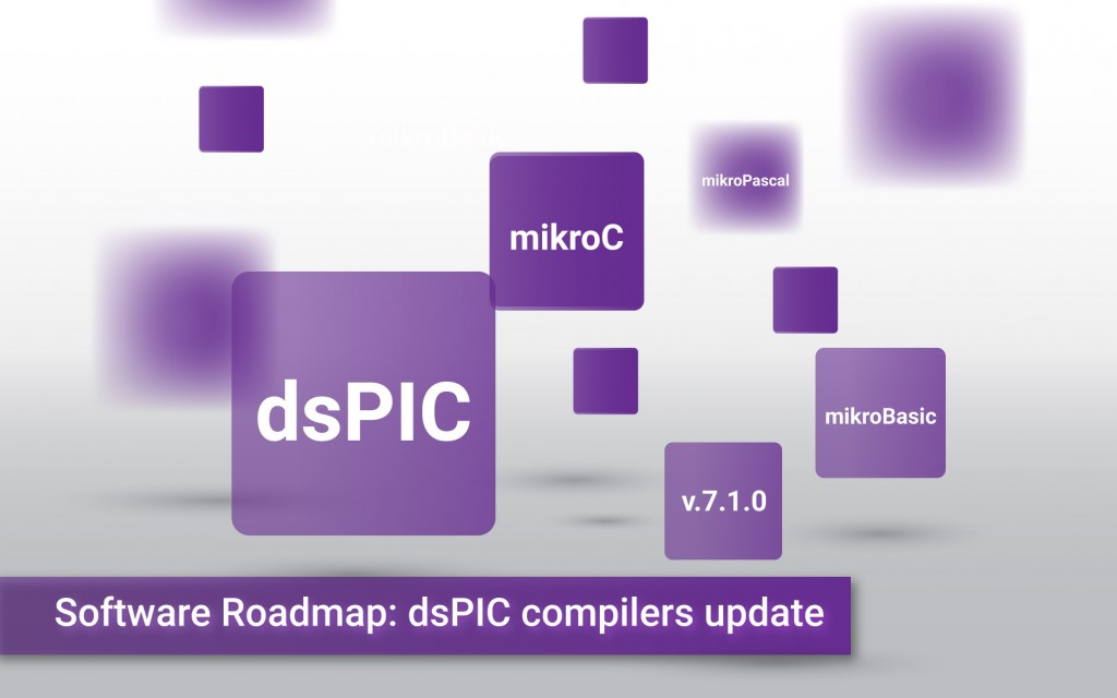 Software Roadmap: dsPIC compilers version 7.1.0