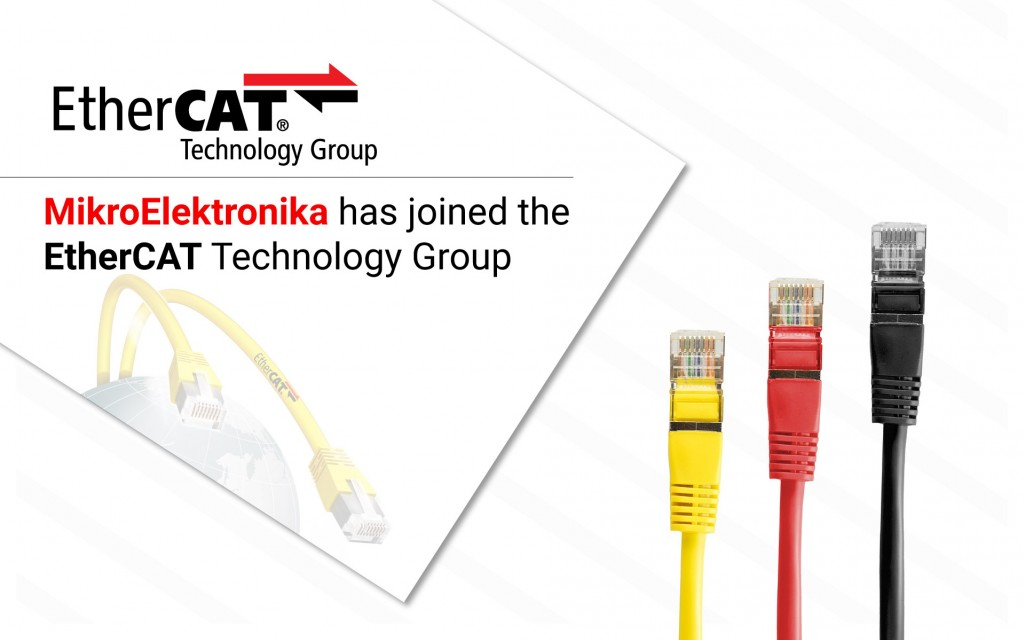 We joined the EtherCAT Technology Group
