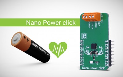 Low power is not a struggle - Nano Power click