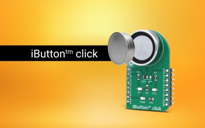 iButton™ click - automatic identification through the 1-Wire® protocol