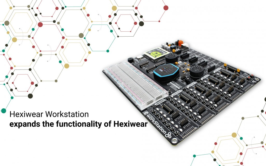 Hexiwear Workstation - expands the functionality of Hexiwear