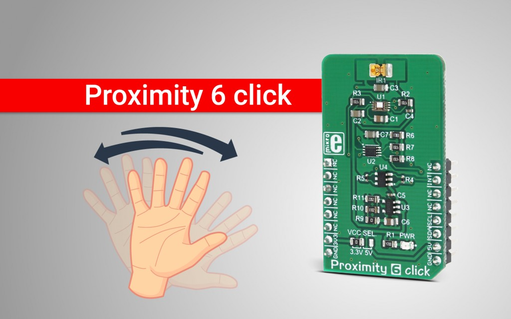 Proximity 6 click - accurate and reliable proximity detection