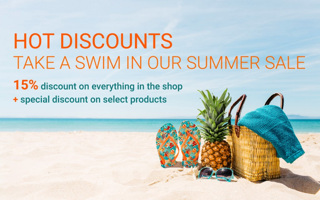 The Summer Sale brings hot discounts your way