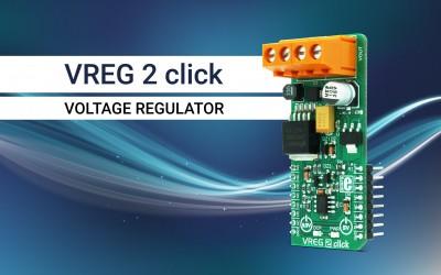 VREG 2 click - voltage regulation