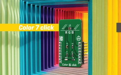 Color 7 click - Excellent for Ambient Light Sensing