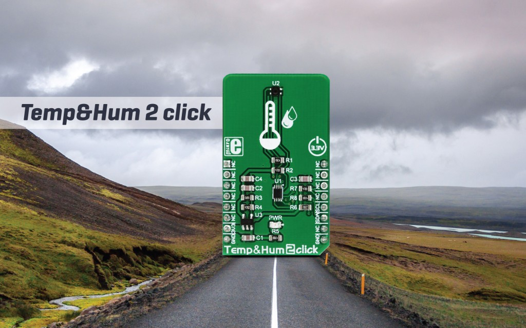 Temp&Hum 2 Click - reliable humidity and temperature measurements