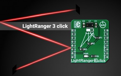 LightRanger 3 Click -  an accurate distance measurement