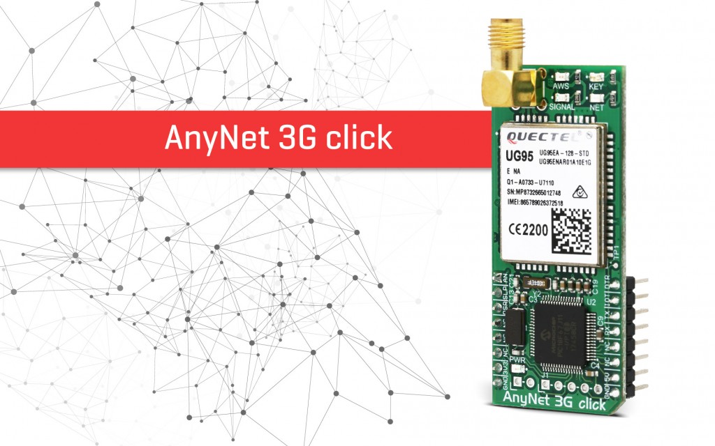 AnyNet 3G-EA click - cellular to AWS gateway device