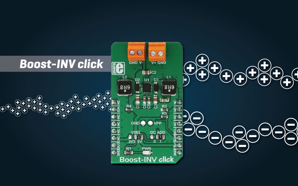 Boost INV click - DC to DC converter