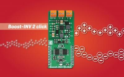 Boost-INV 2 click - DC/DC voltage converter device