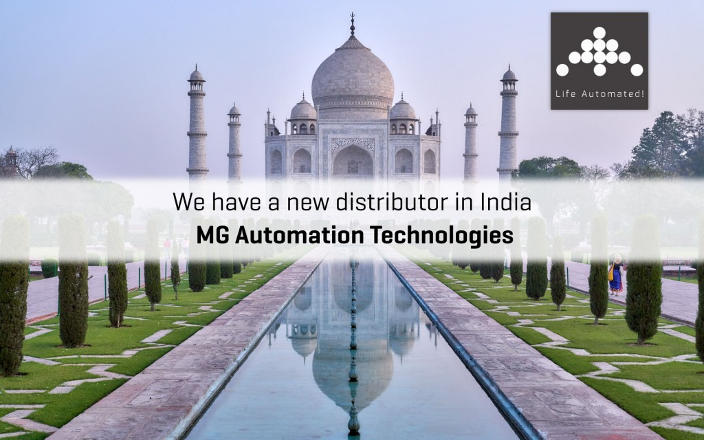 New distributor in India - MG Automation Technologies