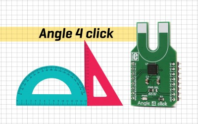 Angle 4 click - contactless angle measurement