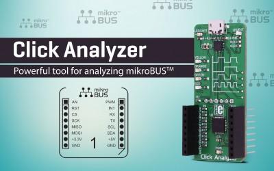 Click Analyzer - Powerful tool for analyzing mikroBUS™