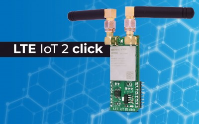 LTE IoT 2 Click - embedded LTE IoT communication solution