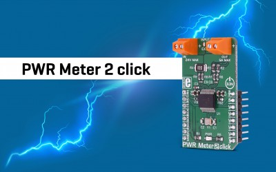 PWR Meter 2 click - compact and accurate power monitoring Click board™