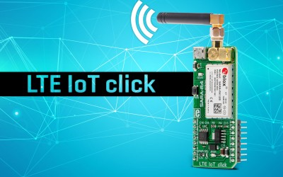 LTE IoT click - embedded M2M and LTE IoT solutions